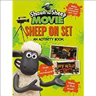 SHAUN THE SHEEP MOVIE | SHEEP ON SET | AN ACTIVITY BOOK