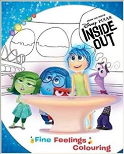 DISNEY PIXAR INSIDE OUT | FINE FEELING COLOURING
