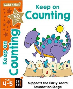GOLD STARS   KEEP ON COUNTING AGES 4-5