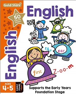 GOLD STARS   ENGLISH AGES 4-5