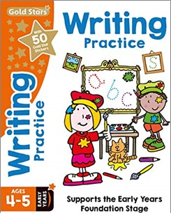 GOLD STARS   WRITING PRACTICE AGES 4-5