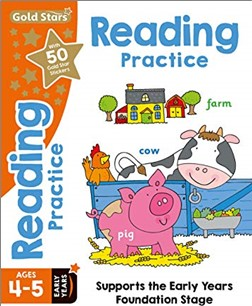 GOLD STARS   READING PRACTICE AGES 4-5