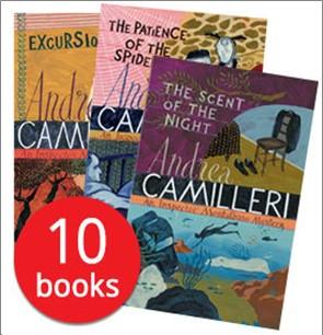 ANDREA CAMILLERI COLLECTION - 10 BOOKS