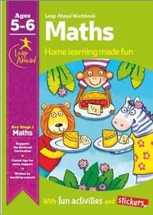 LEAP AHEAD WORKBOOK   MATHS AGES 5-6