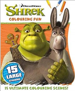 SHREK COLOURING FUN