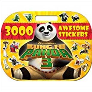 KUNG FU PANDA 3 | 3000 AWESOME STICKERS