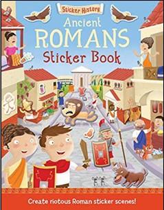 STICKER HISTORY | ANCIENT ROMANS STICKER BOOK