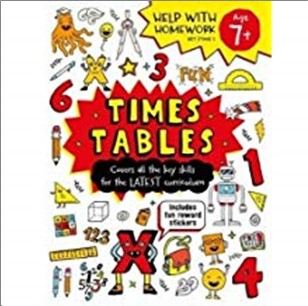 HELP WITH HOMEWORK   TIMES TABLES AGE 7+