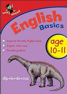LEAP AHEAD   ENGLISH BASICS   AGES 10-11