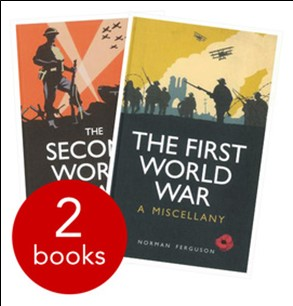 FIRST WORLD WAR & SECOND WORLD WAR TWO PACK