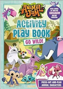 ANIMAL JAM | ACTIVITY PLAY BOOK | GO WILD!