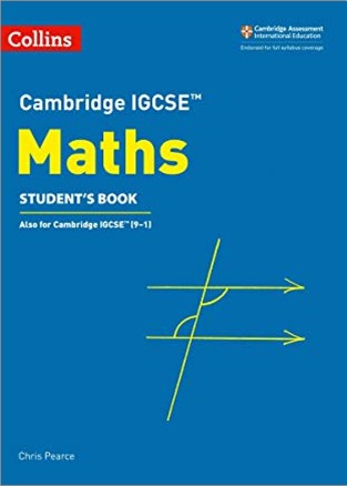 COLLINS | CAMBRIDGE IGCSE | MATHS STUDENT'S BOOK