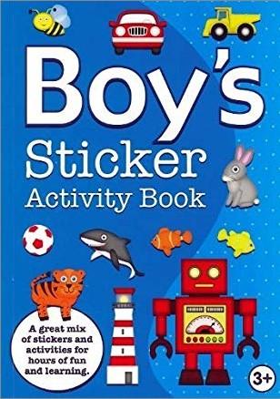 BOY'S STICKER ACTIVITY BOOK