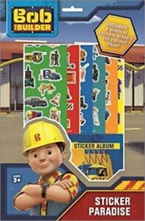 BOB THE BUILDER   STICKER PARADISE