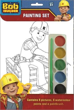BOB THE BUILDER   PAINTING SET
