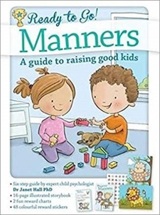 READY TO GO!   MANNERS   A GUIDE TO RAISING GOOD KIDS