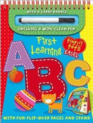TINY TOTS EASEL   FIRST LEARNING   A B C