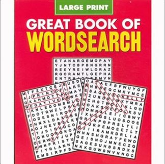 GREAT BOOK OF WORDSEARCH | LARGE PRINT