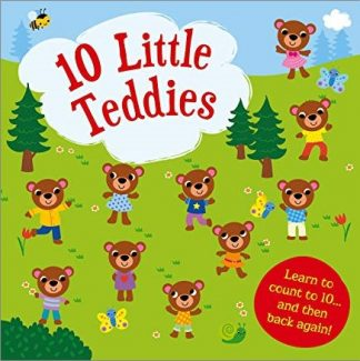 10 TEDDY BEARS   NUMBER FUN FOR LITTLE LEARNERS