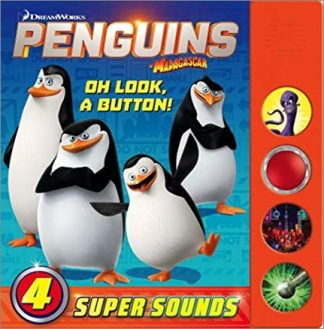 PENGUINS OF MADAGASCAR | OH LOOK, A BUTTON! SOUND BOOK