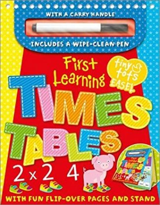 TINY TOTS EASEL   FIRST LEARNING   TIMES TABLES