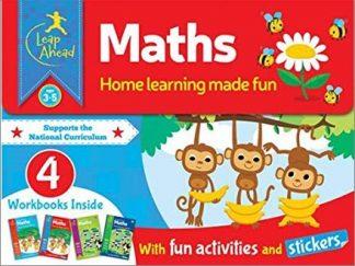 LEAP AHEAD   MATHS PACK   AGE 3-5