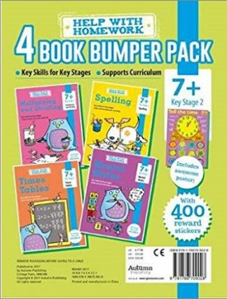 HELP WITH HOMEWORK   4 BOOK BUMPER PACK   7+ KEY STAGE 2