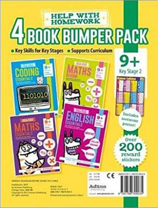 HELP WITH HOMEWORK   4 BOOK BUMPER PACK   9+ KEY STAGE 2