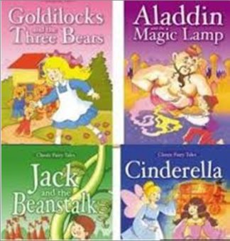 CLASSIC FAIRY TALES MIXED BOX OF FOUR TITLES