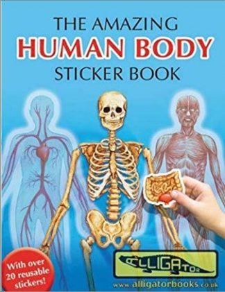 AMAZING HUMAN BODY STICKER BOOK