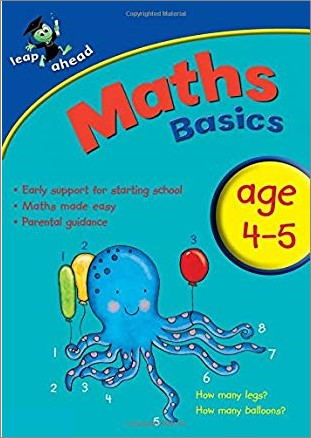 LEAP AHEAD   MATHS BASICS   AGE 4-5