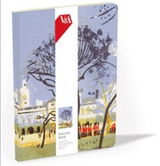 SOFTCOVER LINED EXERCISE BOOK | V&A - HORSE GUARDS PARADE