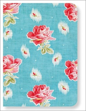 SOFTCOVER LINED A7 NOTEBOOK | V&A - CHINTZ ROSES