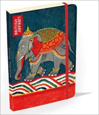 HARDCOVER LINED JOURNAL |BRITISH LIBRARY - CAPARISONED ELEPHANT