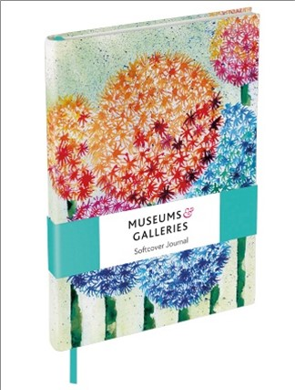 SOFTCOVER LINED JOURNAL | V&A - ALLIUM INVASION