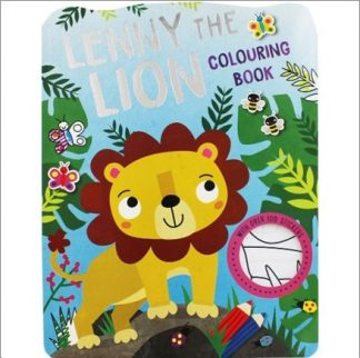 LENNY THE LION COLOURING BOOK