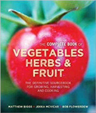 COMPLETE BOOK OF VEGETABLES HERBS & FRUIT