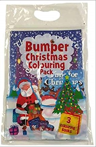 BUMPER CHRISTMAS COLOURING PACK