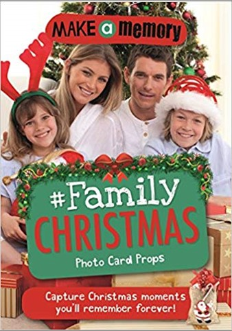 MAKE A MEMORY | #FAMILY CHRISTMAS | PHOTO CARD PROPS