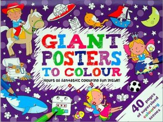 GIANT POSTERS TO COLOUR!