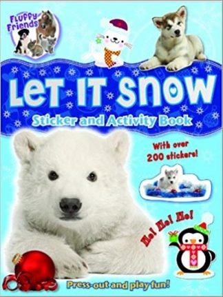 FLUFFY FRIENDS | LET IT SNOW | STICKER AND ACTIVITY BOOK