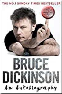 BRUCE DICKINSON AN AUTOBIOGRAPHY