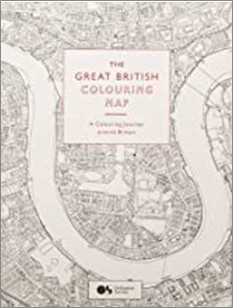 GREAT BRITISH COLOURING MAP | A COLOURING JOURNEY AROUND BRITAIN