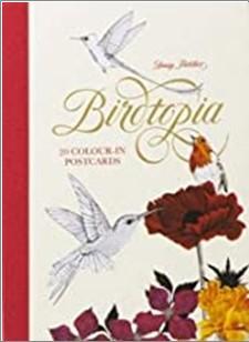 BIRDTOPIA | 20 COLOUR IN POSTCARDS