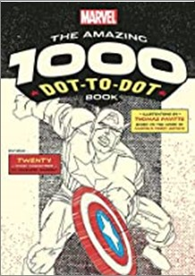 MARVEL | THE AMAZING 1000 DOT-TO-DOT BOOK