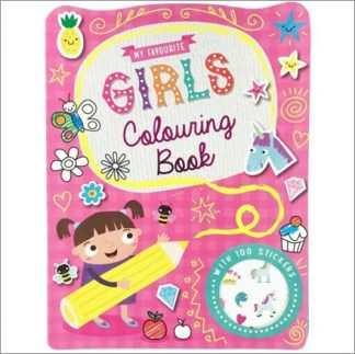 MY FAVOURITE | GIRLS COLOURING BOOK