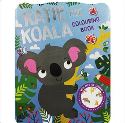 KATIE THE KOALA COLOURING BOOK