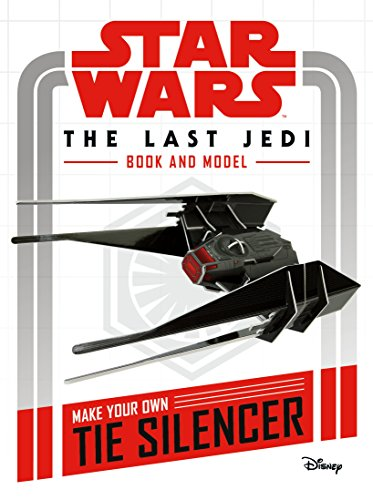 STAR WARS | THE LAST JEDI | BOOK AND MODEL | MAKE YOUR OWN TIE SILENCER