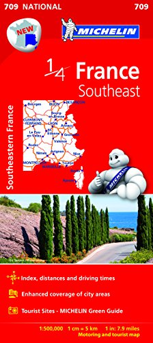 MICHELIN | 1/4 MAP | FRANCE SOUTHEAST