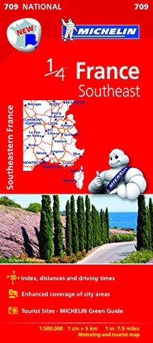 MICHELIN | 1/4 MAP | FRANCE SOUTHEAST